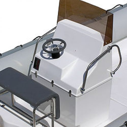 LARGE CONSOLE WITH REAR STANDUP SEAT