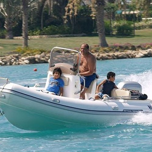 Inflatable Tiger Marine Proline 550 Action!!